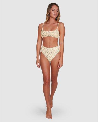4 Pretty Moon Gathered Bralette Bikini Top Multicolor ABJX300345 Billabong