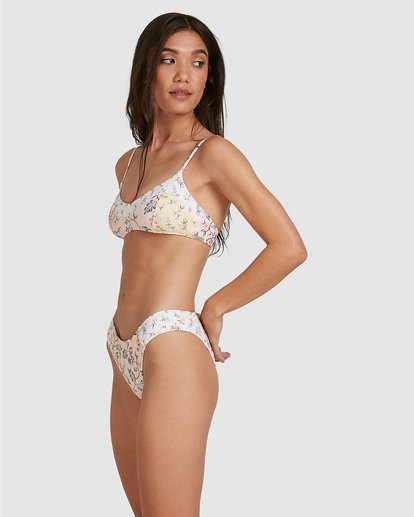 2 This Gypsy Gigi Bralette Bikini Top Pink ABJX300346 Billabong