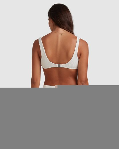 3 Summer High Bralette Bikini Top White ABJX300393 Billabong