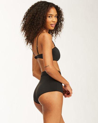 3 Sol Searcher Lulu Bandeau Bikini Top Black ABJX300404 Billabong