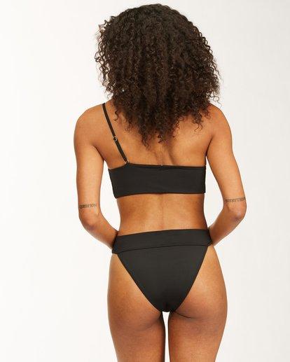 3 Sol Searcher One Shoulder Bikini Top Black ABJX300406 Billabong