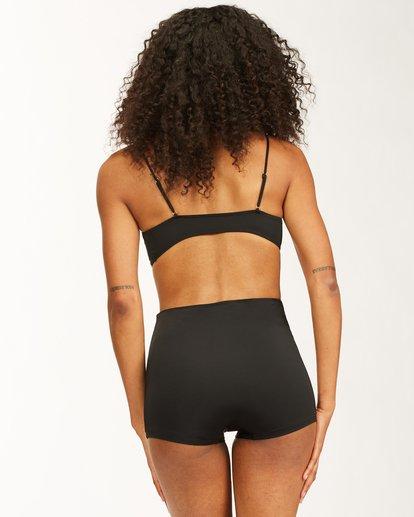 2 Sol Searcher Skinny Mini Bikini Top Black ABJX300408 Billabong