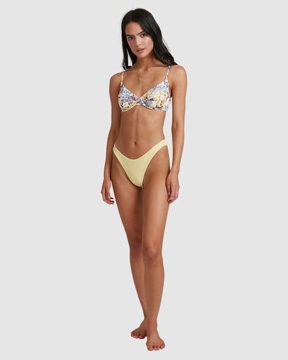 6 Hula Moon Nova Bra Bikini Top White ABJX300471 Billabong