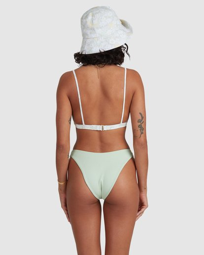 4 Melody Coco Bralette Bikini Top Green ABJX300478 Billabong