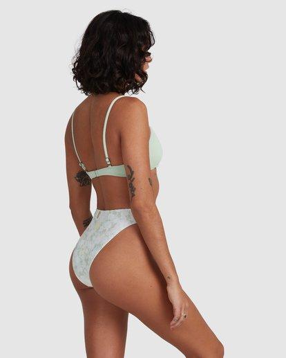 2 Ripple V Bralette Bikini Top Green ABJX300480 Billabong