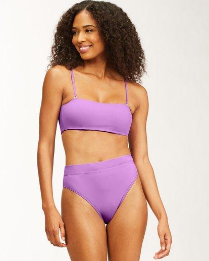 0 Sol Searcher Bandeau Bikini Top Multicolor ABJX300481 Billabong