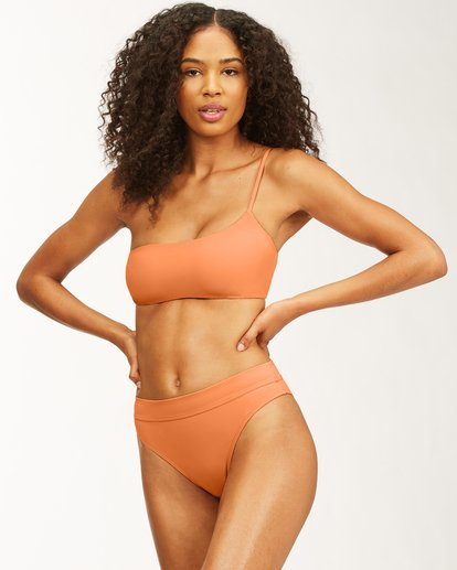 2 Sol Searcher One Shoulder Bikini Top Multicolor ABJX300482 Billabong