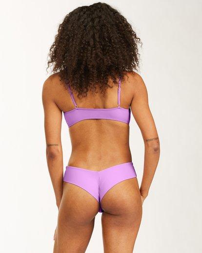 3 Sol Searcher Skinny Mini Cropped Bikini Top Multicolor ABJX300483 Billabong