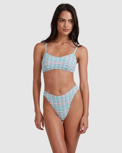 4 Blue Sky Lila DD Bralette Bikini Top Blue ABJX300489 Billabong