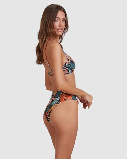 2 Somedaze Charlie Trilette Bikini Top Black ABJX300499 Billabong