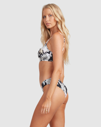 2 Tropicool Vintage DD Bralette Bikini Top Black ABJX300506 Billabong