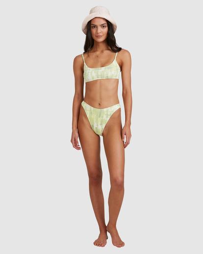 8 To Dye For Bralette Bikini Top Green ABJX300507 Billabong