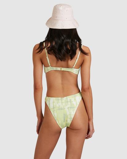 5 To Dye For Bralette Bikini Top Green ABJX300507 Billabong