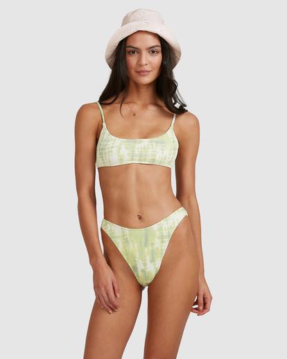6 To Dye For Bralette Bikini Top Green ABJX300507 Billabong