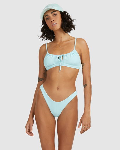 4 Sunrays Coco Bralette Bikini Top Blue ABJX300510 Billabong