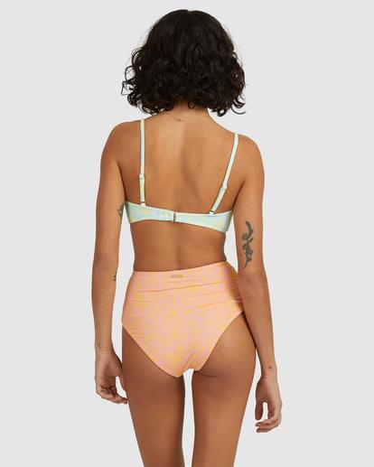 4 Hot Tropics Nova DD Bra Bikini Top Blue ABJX300511 Billabong