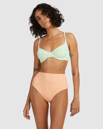 5 Hot Tropics Nova DD Bra Bikini Top Blue ABJX300511 Billabong