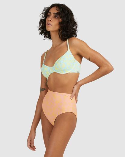 2 Hot Tropics Nova DD Bra Bikini Top Blue ABJX300511 Billabong