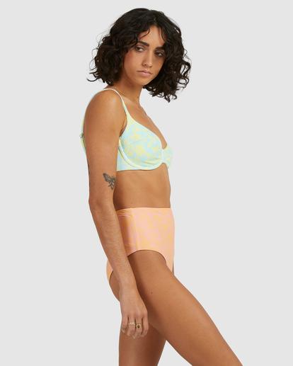 3 Hot Tropics Nova DD Bra Bikini Top Blue ABJX300511 Billabong