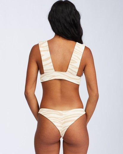 6 Wild Groove Tanga Bikini Bottom Brown ABJX400109 Billabong