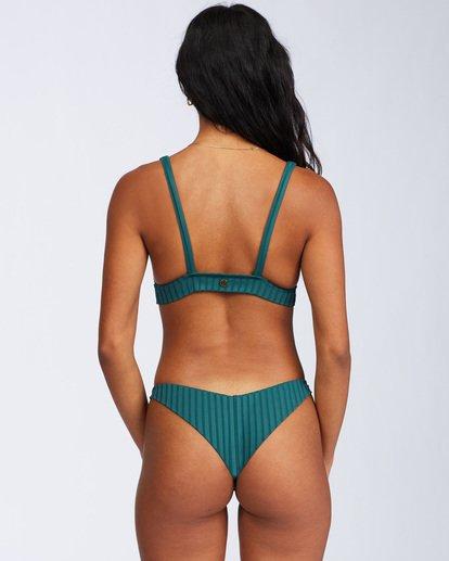 4 Sunny Rib Tanga Bikini Bottom Green ABJX400120 Billabong