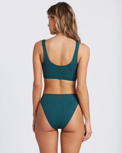 0 Sunny Rib Maui Rider Bikini Bottom Green ABJX400121 Billabong