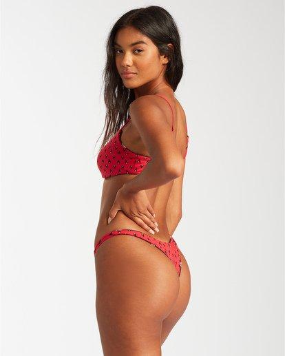 1 Falling Light Maya Bikini Bottom Red ABJX400122 Billabong