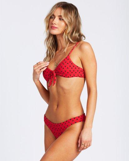 1 Falling Light Lowrider Bikini Bottom Red ABJX400124 Billabong