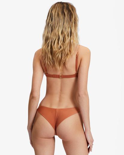 0 Sol Searcher Tanga Bikini Bottom Brown ABJX400128 Billabong