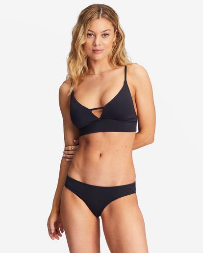 3 Sol Searcher Lowrider Bikini Bottom Black ABJX400135 Billabong
