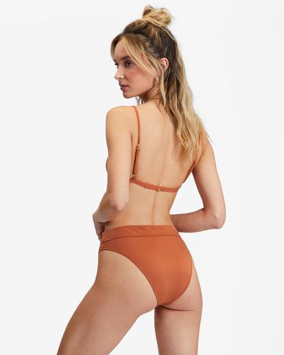 0 Sol Searcher Maui Rider Bikini Bottom Brown ABJX400136 Billabong