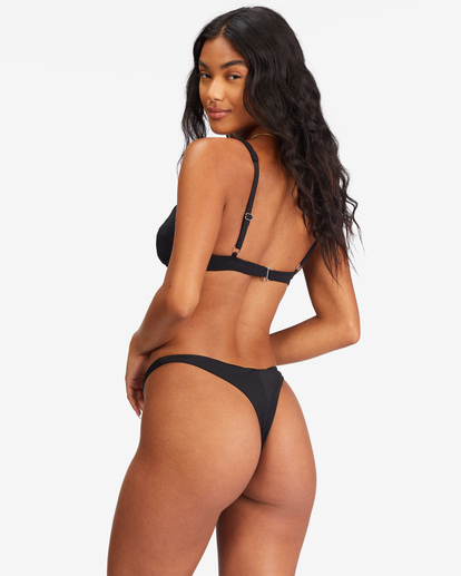 0 Sol Searcher Maya Bikini Bottom Black ABJX400138 Billabong