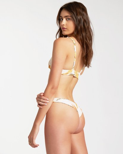 1 Sweet Sands Tanga Reversible Bikini Bottom Grey ABJX400178 Billabong
