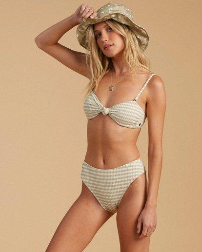 2 Salty Blonde Meet Your Matcha Maui Rider Bikini Bottom Beige ABJX400197 Billabong