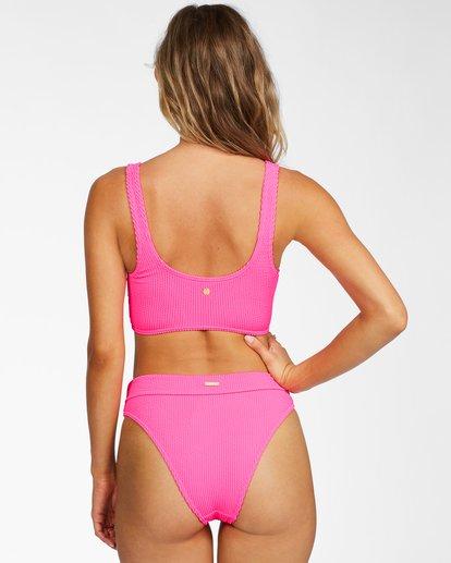 1 Summer High Maui Rider Bikini Bottom Pink ABJX400214 Billabong