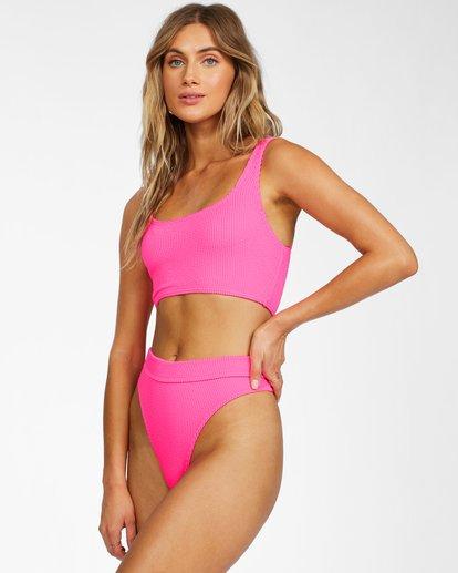 2 Summer High Maui Rider Bikini Bottom Pink ABJX400214 Billabong
