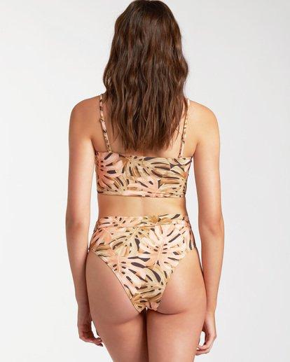 1 Hula Palm Rise Bikini Bottom Grey ABJX400222 Billabong