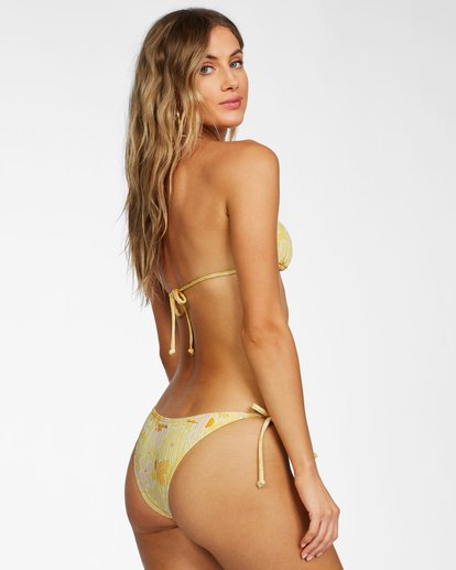 3 Make You Mine Hike Bikini Bottom Yellow ABJX400238 Billabong