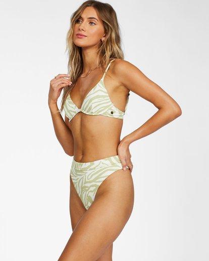 1 Jungle Town High Maya Bikini Bottom Green ABJX400278 Billabong