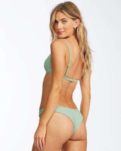 0 Tanlines Tanga Bikini Bottom Green ABJX400305 Billabong