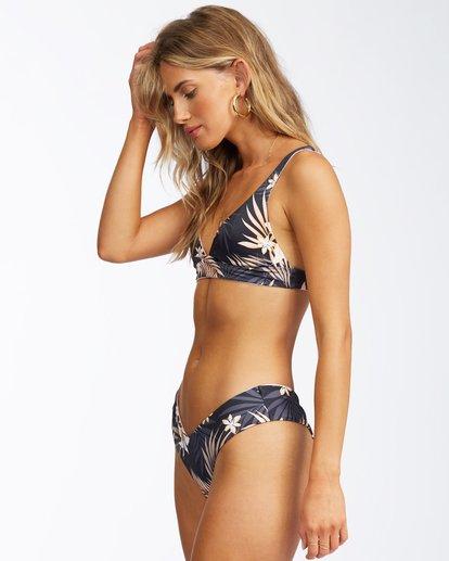 1 Safari Nights Reversible Fiji Bikini Bottom Black ABJX400312 Billabong