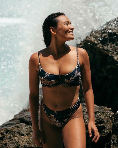3 Safari Nights Aruba Bikini Bottom Black ABJX400313 Billabong
