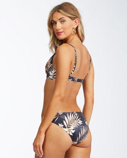 1 Safari Nights Reversible Lowrider Bikini Bottom Black ABJX400314 Billabong