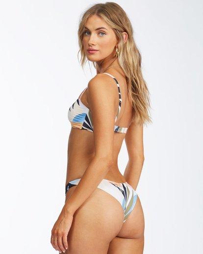 2 Last Rays Tanga Bikini Bottom Grey ABJX400315 Billabong