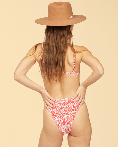 0 Wrangler Ruby Sands Havana Bikini Bottom Red ABJX400335 Billabong