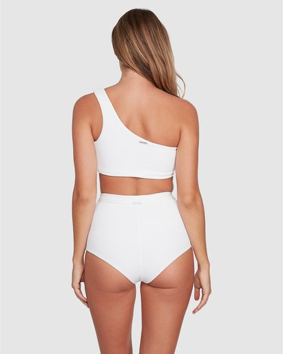 2 Tanlines Avalon Bikini Bottom White ABJX400348 Billabong
