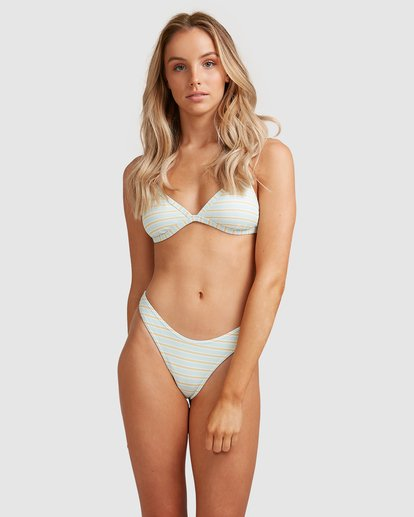 3 Broadwalk Hike Bikini Bottom Blue ABJX400351 Billabong