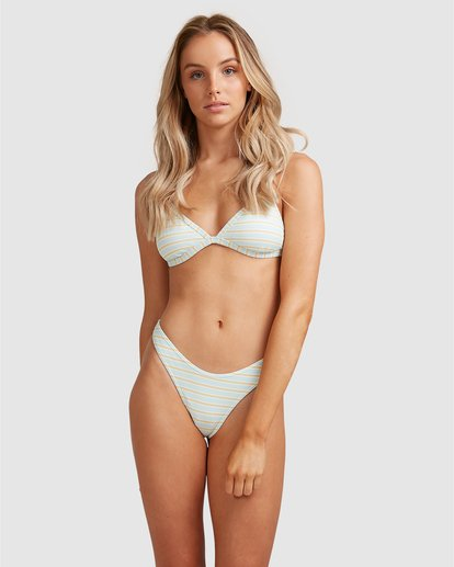 8 Broadwalk Hike Bikini Bottom Blue ABJX400351 Billabong