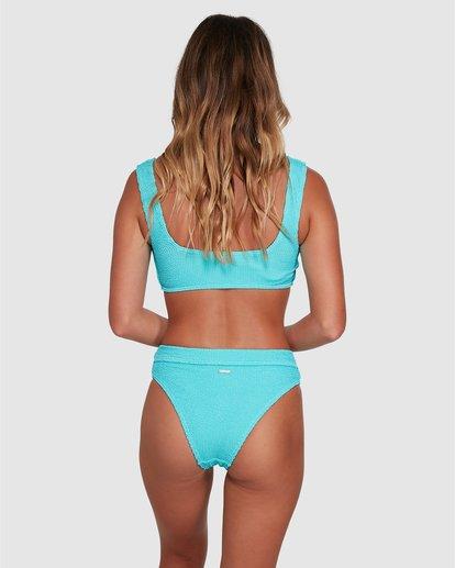 0 Summer High Maui Rider Bikini Bottom Blue ABJX400358 Billabong
