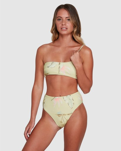 2 Maui Babe Hi Maui Bikini Bottom Multicolor ABJX400360 Billabong
